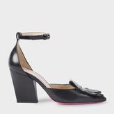 Paul Smith Women's Black Leather 'Perla' Shoes