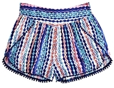 Ella Moss Girls' Jaya Printed Shorts - Big Kid