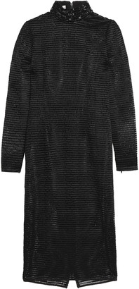 Amanda Wakeley Ribbed Crochet-knit Dress