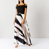 Coast Rockafella Pleated Maxi Dress