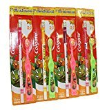 Colgate Kids Extra Soft Colorful Toothbrush with Pencil for 2 - 5 Years - Assorted Colors