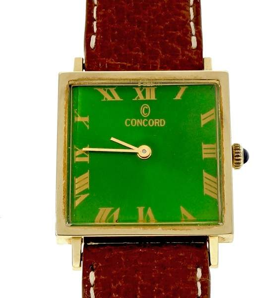 Concord 14K Yellow Gold Vintage 26mm Womens Watch