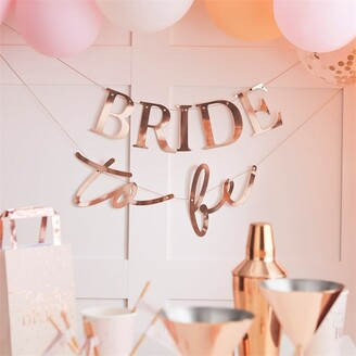 Ginger Ray Blush Hen Party Rose Gold Bride To Be Bunting
