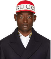 Gucci Red Logo Band Cap
