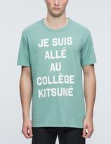 MAISON KITSUNÉ Je Suis Alle S/S T-Shirt