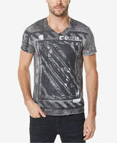 Buffalo David Bitton Men's Graphic-Print V-Neck T-Shirt