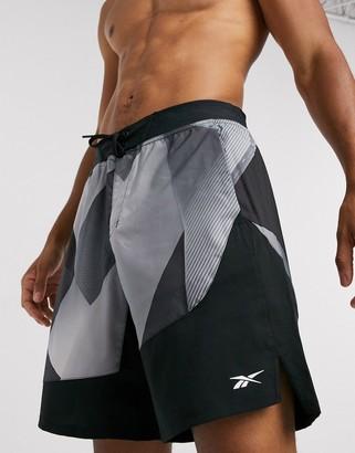 Reebok epic training shorts in black