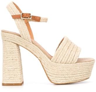 Castaner Platform Braided-Detail Sandals
