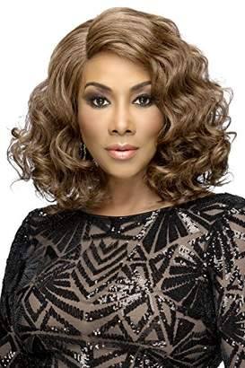 Vivica A Fox Hair Collection Harper Natural Baby Swiss Lace Front Wig Invisible New Futura Fiber Lace Part