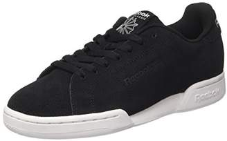 Reebok Npc II S, Mens Low Trainers Gymnastics Shoes, Black (Black/White BLACK/WHITE), (42 EU)