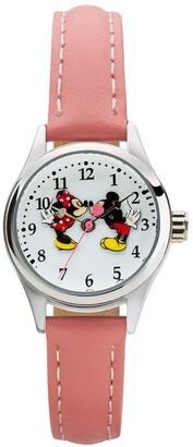 Disney Petite Mickey & Minnie in Love Pink Watch