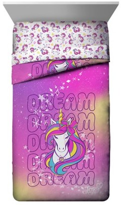 Jojo Siwa Jojo Dream Unicorn Twin/Full Pink Reversible Comforter