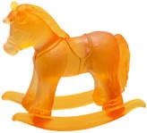 Daum Amber Crystal Rocking Horse