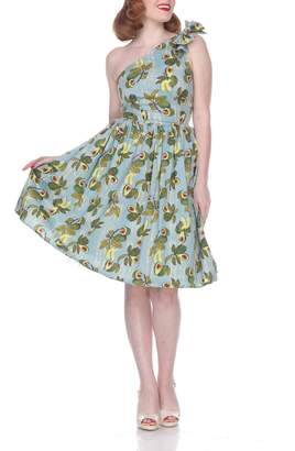 Bettie Page Clothing Avocado Belinda Dress