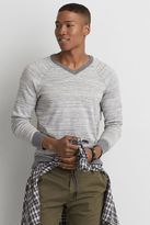 American Eagle Outfitters AE Raglan V-Neck Sweater