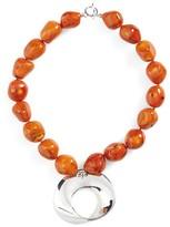 Simon Sebbag Women's Semiprecious Stone Abstract Pendant Necklace