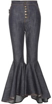 Ellery Hysteria Crop Flare Jeans