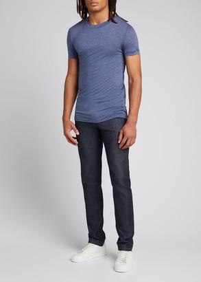 Ermenegildo Zegna Men's Luxurious Round Neck T-Shirt