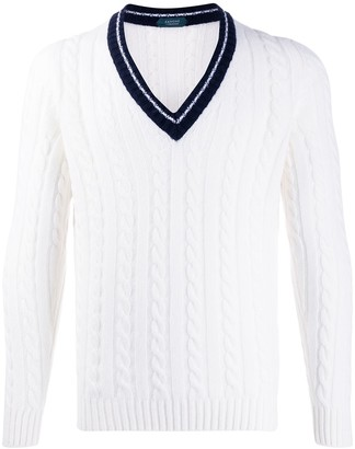 Zanone Cable Knit Jumper