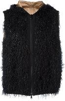 Brunello Cucinelli hooded waistcoat - women - Polyamide/Polyester/Viscose - 40