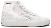 Superga 2750 Cot Macrame High Top Sneaker