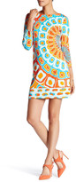 Julie Brown Goldie Printed Shift Dress