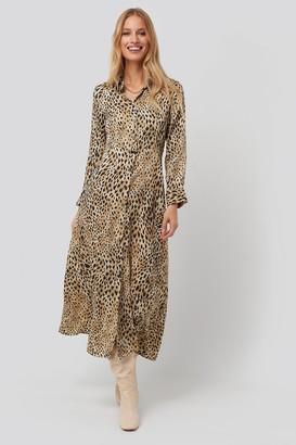 MANGO Pardo Dress