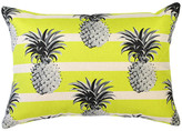 Mono Pineapples Yellow Stripe Cushion
