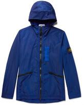 Stone Island Water-Resistant Nylon Metal Hooded Jacket