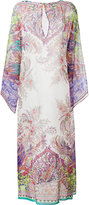 Etro floral print kaftan dress - women - Silk - L