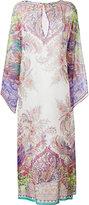 Etro floral print kaftan dress