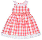 Laura Ashley Plaid Cotton Dress, Toddler & Little Girls (2T-6X)
