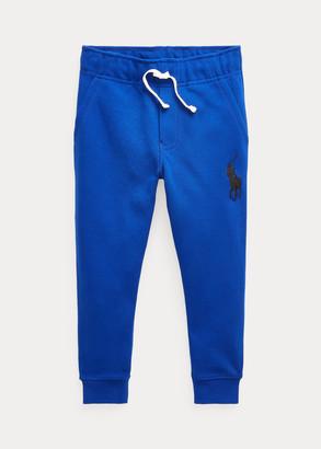 Ralph Lauren Big Pony Double-Knit Jogger Pant