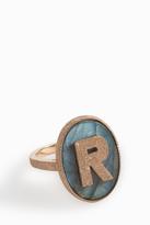 Carolina Bucci 'R' Initial Ring