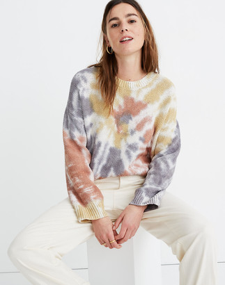 Madewell Tie-Dye Westford Pullover Sweater