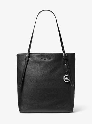 MICHAEL Michael Kors Megan Large Pebbled Leather Tote Bag