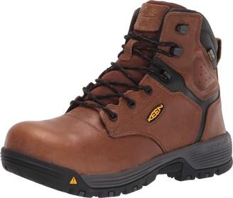 """Keen Men's Chicago 6"""" Composite Toe Waterproof Metatarsal Guard Work Boot Construction"""