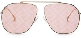 Fendi FF aviator sunglasses