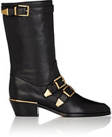 Chloé WOMEN'S SUZANNA LEATHER MID-CALF BOOTS