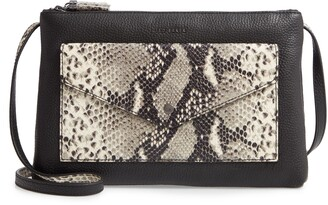 Ted Baker Jessiee Exotic Leather Crossbody Bag