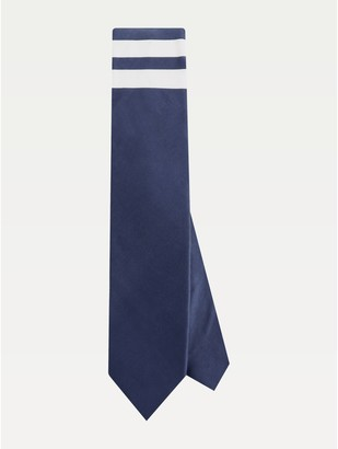 Tommy Hilfiger Cotton Stripe Pocket Tie