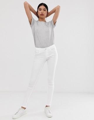 Only white skinny jeans