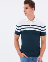 Armani Jeans Relaxed Fit Stripe Polo