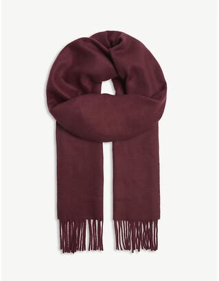Eton Tasselled cashmere scarf