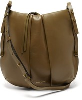 Isabel Marant Lecky Small Leather Shoulder Bag - Womens - Khaki