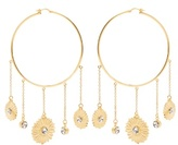 Sonia Rykiel Flower-motif large hoop earrings