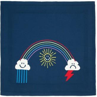 Stella Mccartney Kids Cotton & Wool Knit Blanket