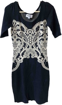 ALICE by Temperley Navy Cotton Dress for Women