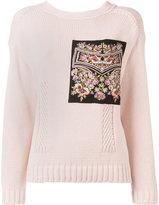 No.21 patch pocket jumper - women - Silk/Cotton/Acetate - 44