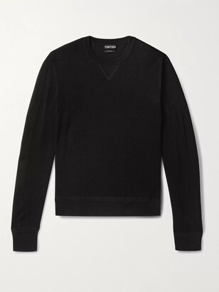 Tom Ford Slim-Fit Cotton-Blend Pique Sweater